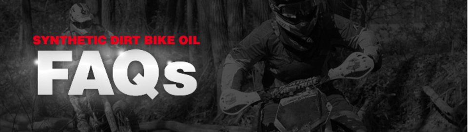 dirt bike oil facts